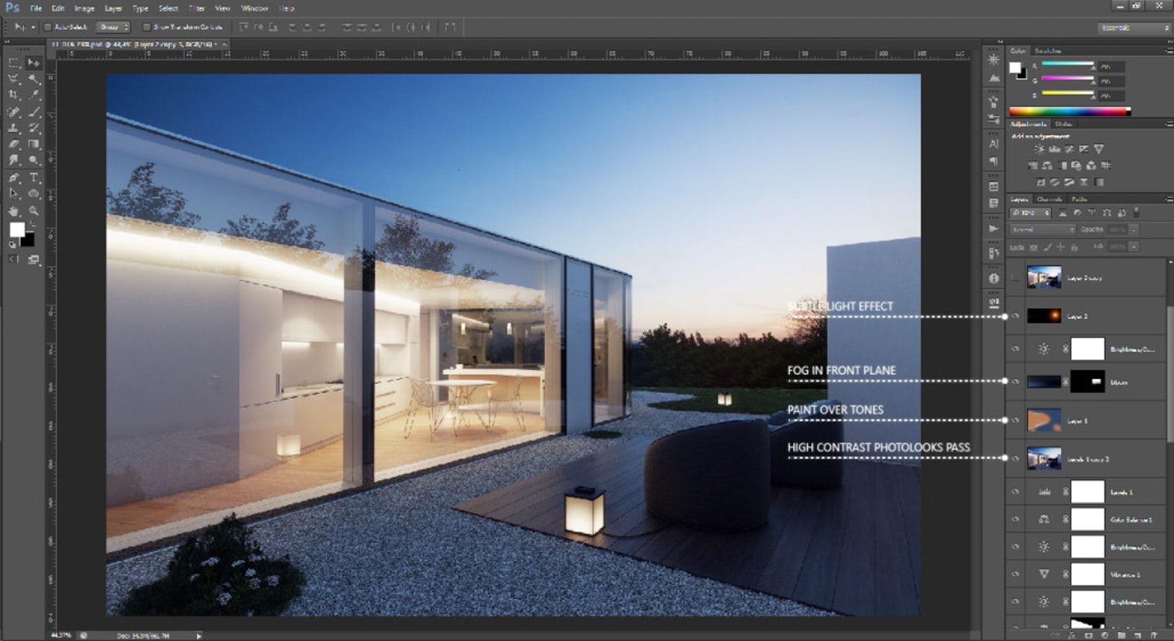 Tutorial: Renderização SketchUp, Vray e Photoshop veja