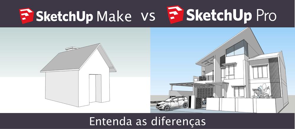 Diferen as sketchup make e pro o comparativo definitivo for Architecte 3d vs sketchup