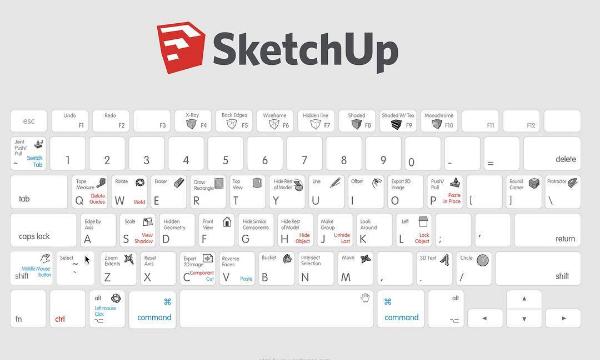 Conheça os atalhos do SketchUp e projeto mais rápido!