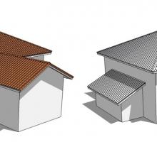 Como fazer telhado no Sketchup