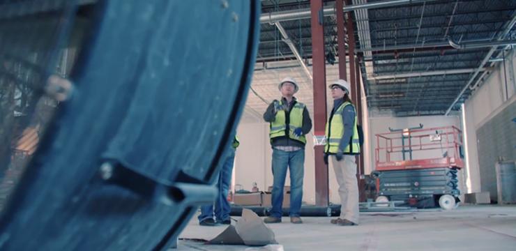 Projeto e construção virtual com a Mortenson Construction