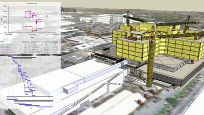 Webinar – Planejando as fases da construção em BIM 4D com SketchUp e 4D Virtual Builder
