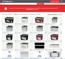 Lofra lança catálogo 3D gratuito de eletrodomésticos para SketchUp