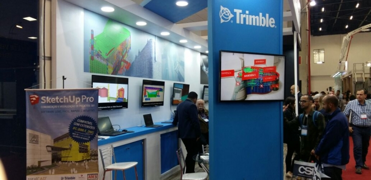 TotalCad e Trimble na Concrete Show 2017