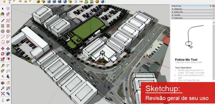 Sketchup – Revisão geral de seu uso