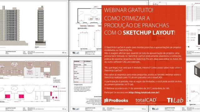 Webinar Gratuito – Como otimizar a produção de pranchas com o SketchUp Layout!