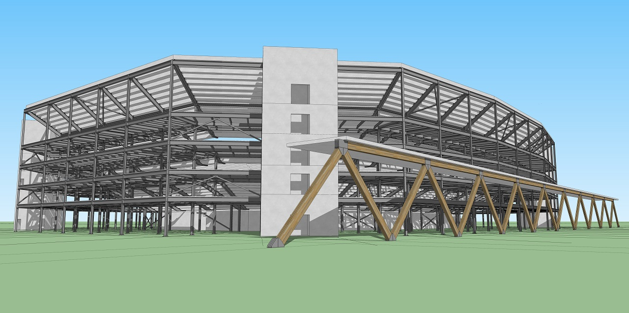 Software 3D Estrutura Metálica