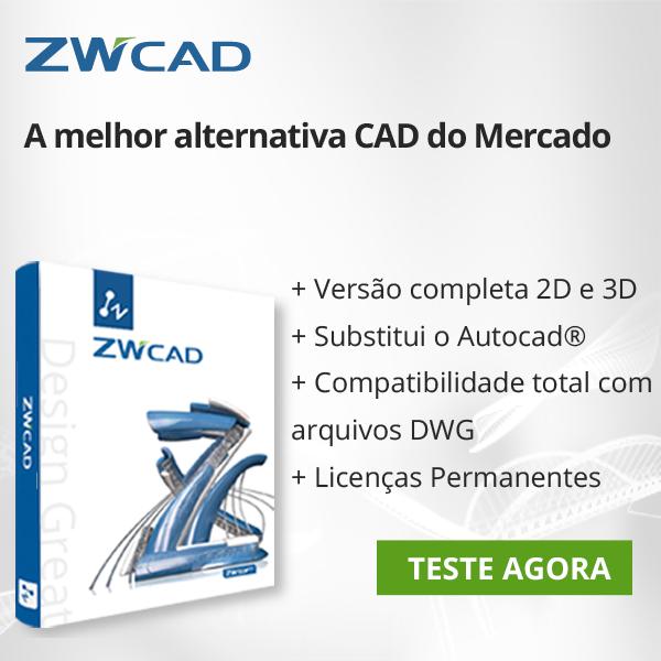 Avaliação Gratuita do ZWCAD 2018