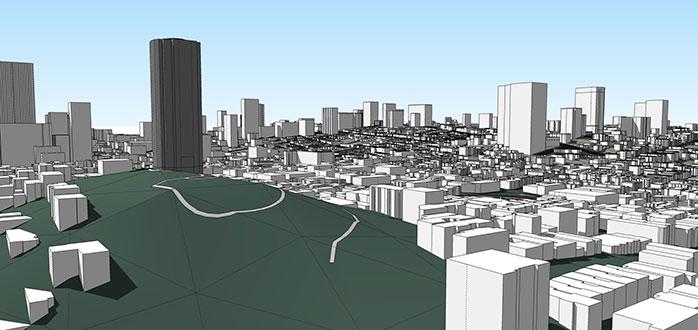 placemarker - 3d cidade instantâneo