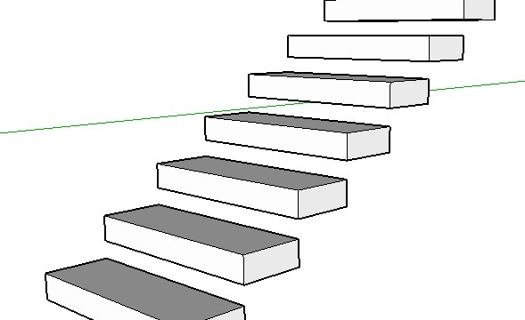 Fazer escada no SketchUp: Aprenda de forma Rápida e Fácil