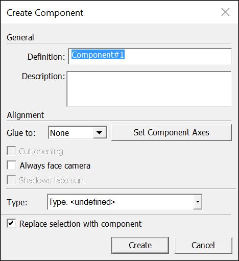 componente do sketchup