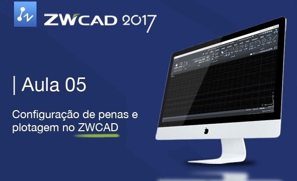Curso ZWCAD 2017 Aula 05/05 – Folha de Desenho com Blocos Inteligentes e Configuração de penas e plotagem