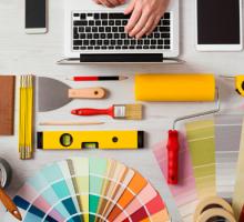 Profissional de design de interiores, vejas as principais dicas