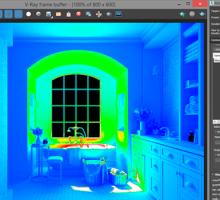 Como configurar a análise de iluminação no V-Ray Next