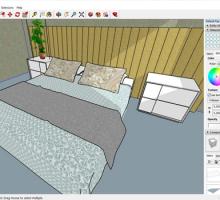 Todas as dicas para a utilização de materiais no SketchUp