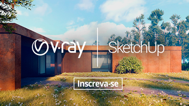 Webinar gratuito: um projeto de V-Ray para SketchUp do início ao fim