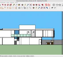 Veja o processo de criação de cortes no SketchUp Pro