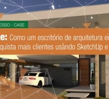 Inspire-se, como um escritório de arquitetura em São Luís conquista mais clientes usando SketchUp e V-Ray