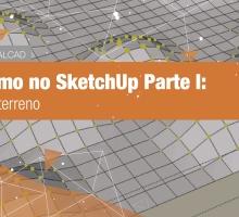 Paisagismo no SketchUp Parte 1: Desenho do terreno