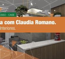 Entrevista com Claudia Romano, Arquiteta de Interiores.