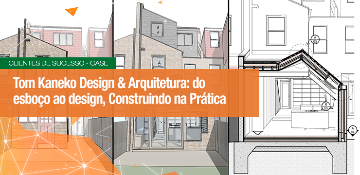 Tom Kaneko Design & Arquitetura: Do Esboço ao Design, Construindo na Prática
