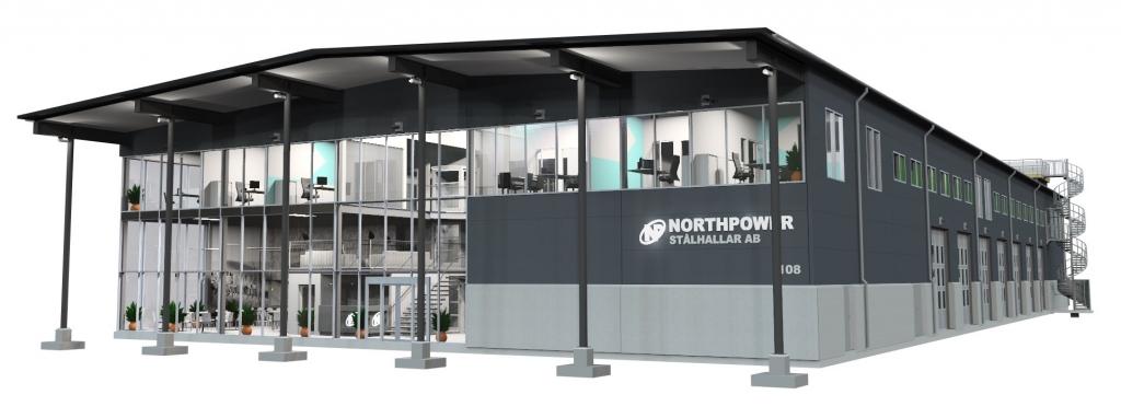 escritorio da empresa northpower