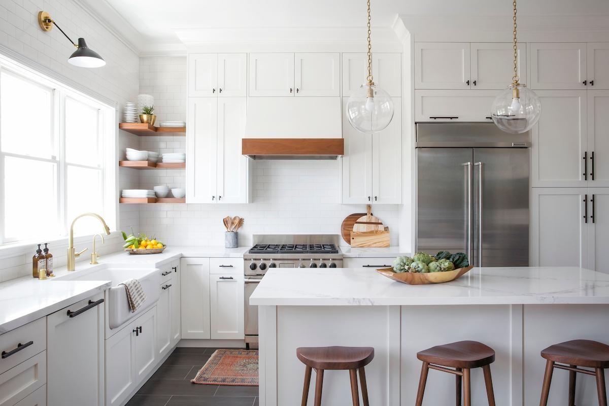 Imagem final – Cozinha construída.