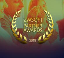 """A totalCAD recebe premiação de """"Parceiro do Ano"""" da  ZWSOFT!"""