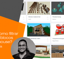 Você sabe como filtrar os melhores blocos no 3D Warehouse?